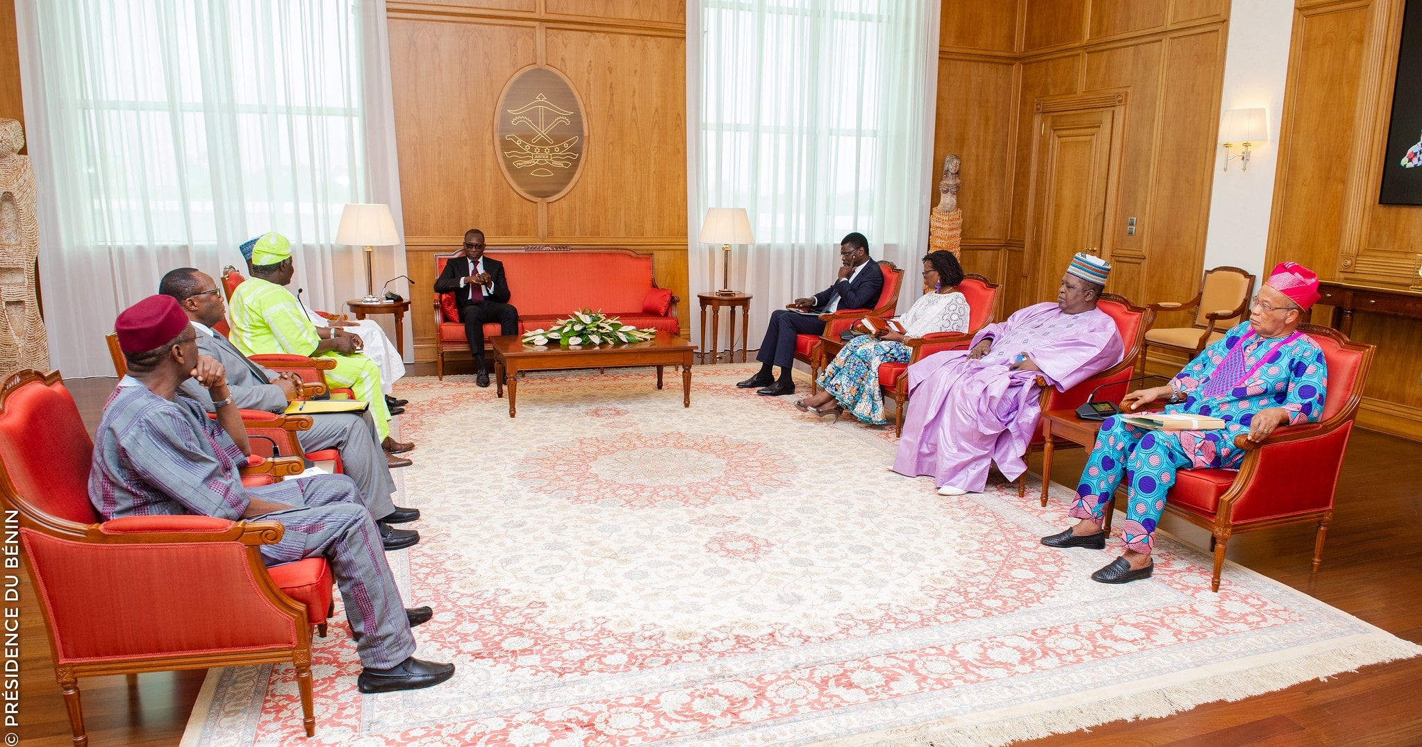Photo of [Exclu] Bénin: les non-dits sur la rencontre entre Patrice Talon et les présidents d'institutions