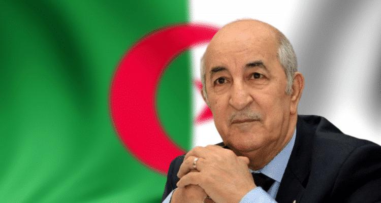 Abdelmadjid Tebboune, président algérien