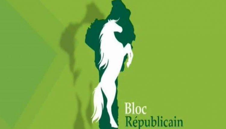Logo du parti BR, Bloc Républicain