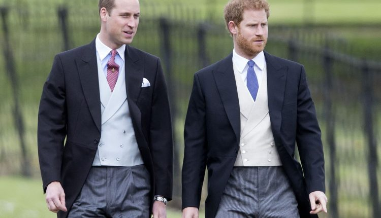 Princes William et Harry @ people