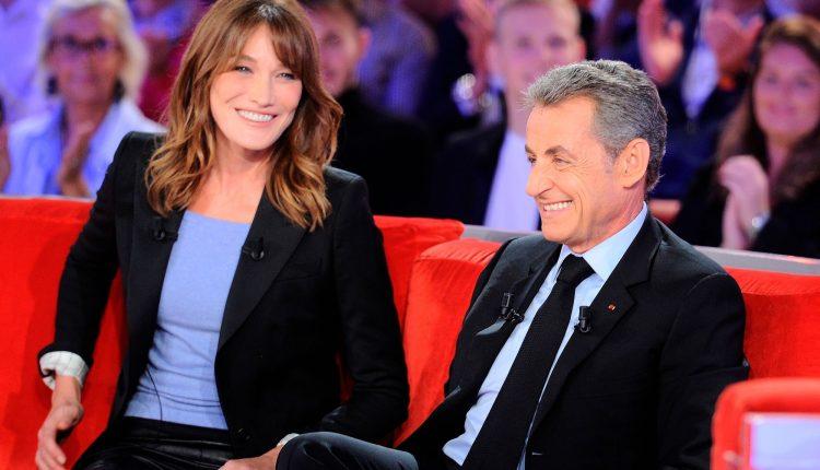 Carla Bruni et Nicolas-Sarkozy @ parismatch