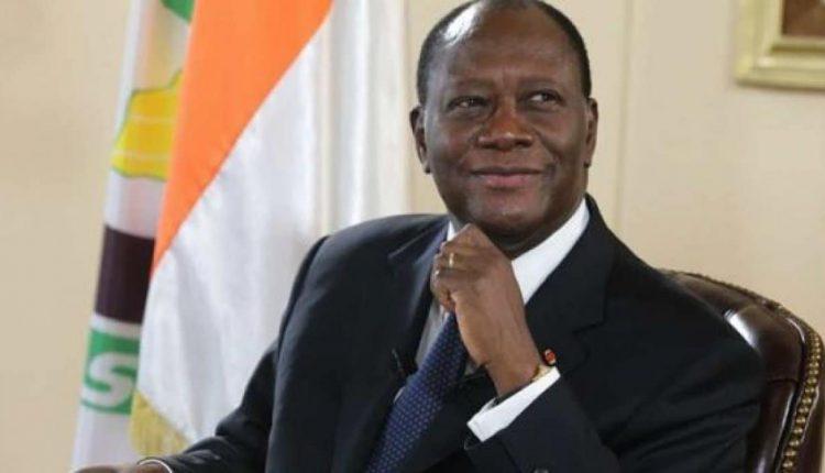 Alassane Ouattara, président de la République de Côte d'Ivoire