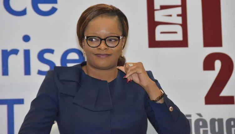 Reckya Madougou, candidate des Démocrates à la présidentielle d'avril 2021