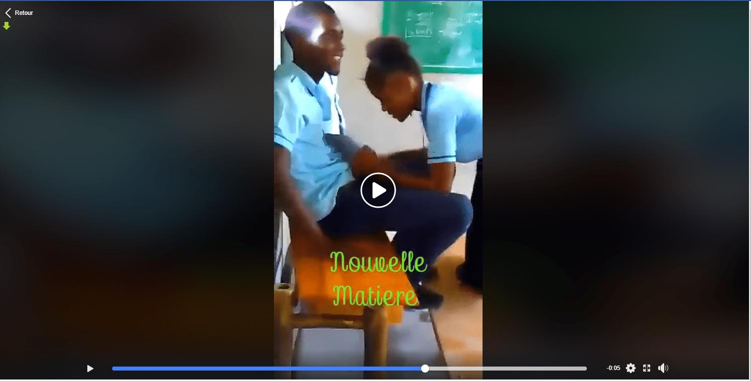 Un proviseur se tape une de ses élèves