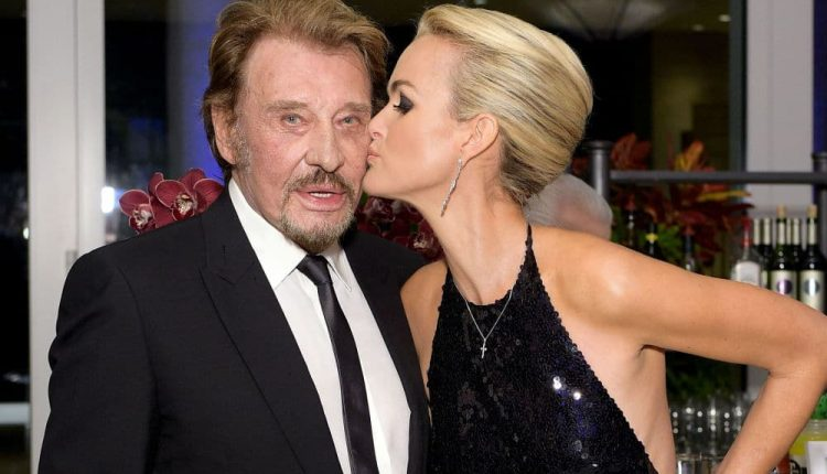 Johnny et Laeticia Hallyday @ BFMTV