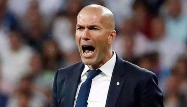 Zinédine Zidane, entraîneur du du Real Madrid.