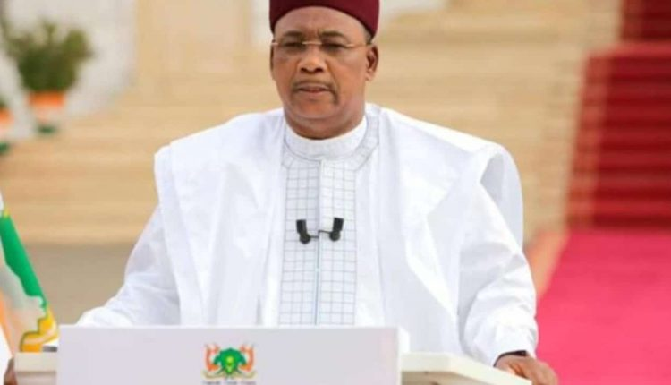 Issoufou Mahamadou, président du Niger