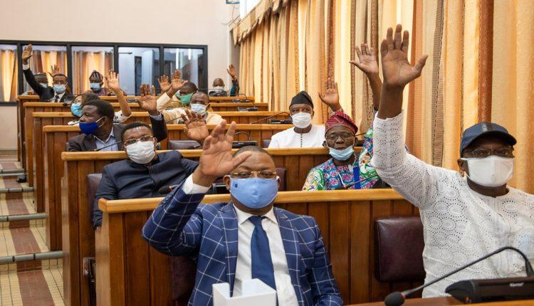 Des députées à l'Assemblée nationale du Bénin
