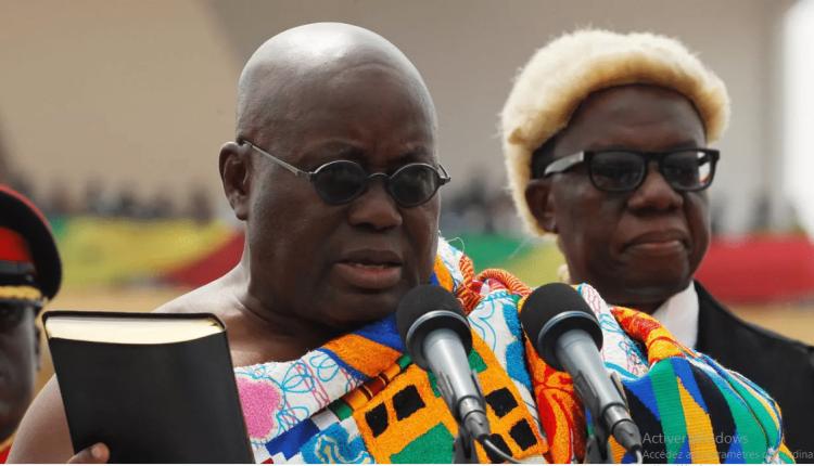 Le président du Ghana, Nana Addo Dankwa Akufo-Addo