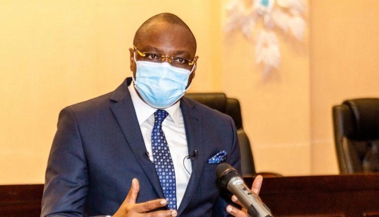 Alain Orounla, ministre porte parole du gouvernement