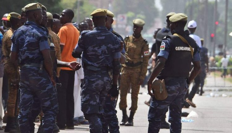 Policiers burkinabé