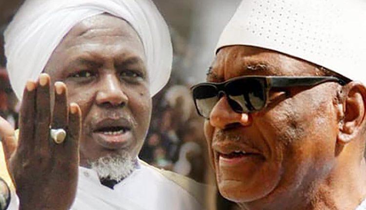 L'imam Mahmoud Dicko et le président Ibrahim Boubacar Keita