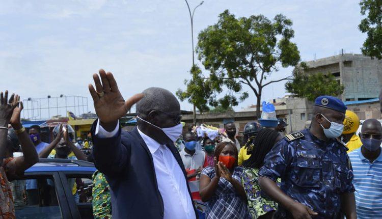 Randyx Romaine Ahouandjinou, Maire intérimaire de la ville de Cotonou