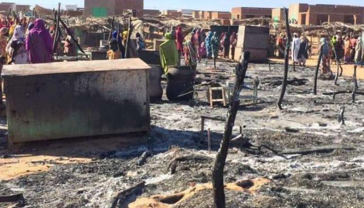 Massacre de civils au Darfour