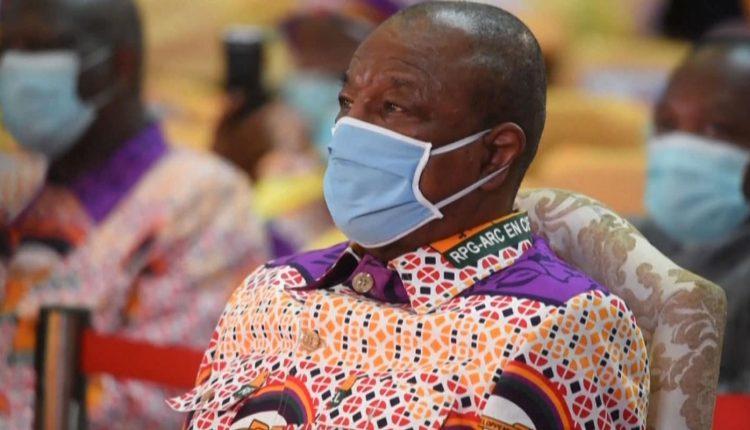 Alpha Condé, président guinéen PH: Capture d'écran Youtube Bénin Web TV