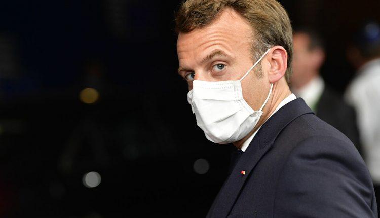 Le Président français Emmanuel Macron ©