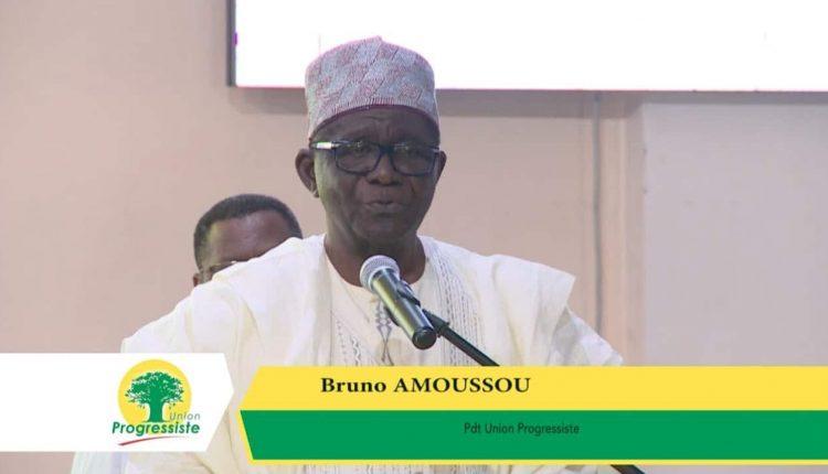 Bruno Amoussou, président de l'Union Progressiste