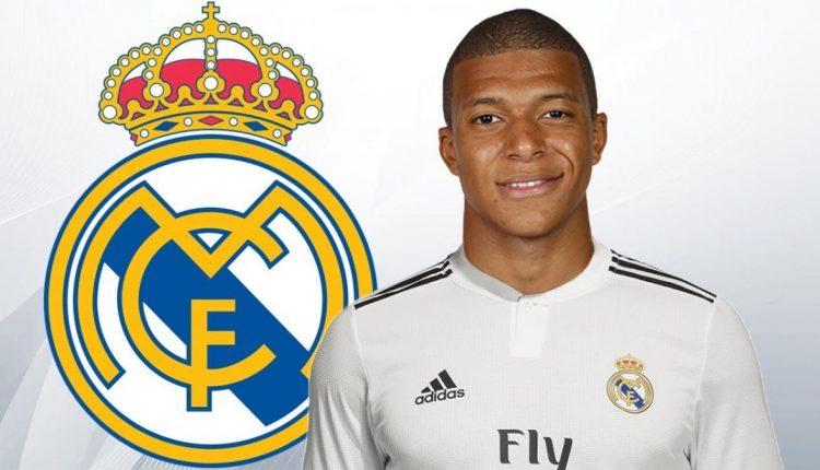 Montage Kylian Mbappé au Real Madrid