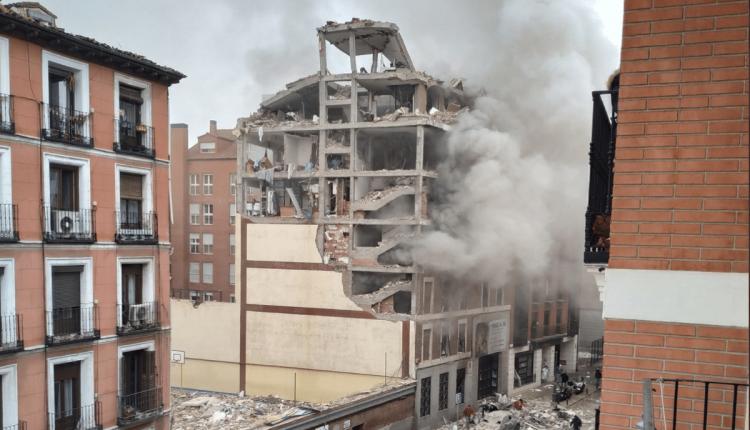 Une forte explosion s'est produite mercredi après-midi dans un immeuble du centre de Madrid