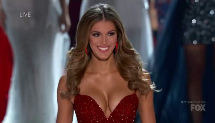 Iris Mittenaere final walk Miss Universe @ YouTube (HD)