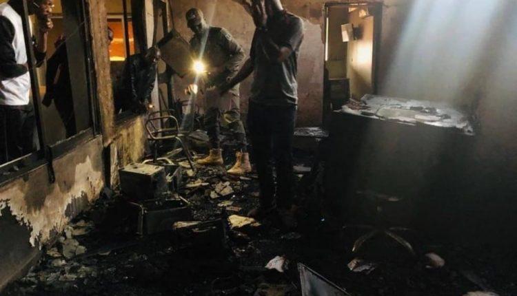 Burkina: une grande partie des locaux de la télévision privée BF1 ravagée par un incendie
