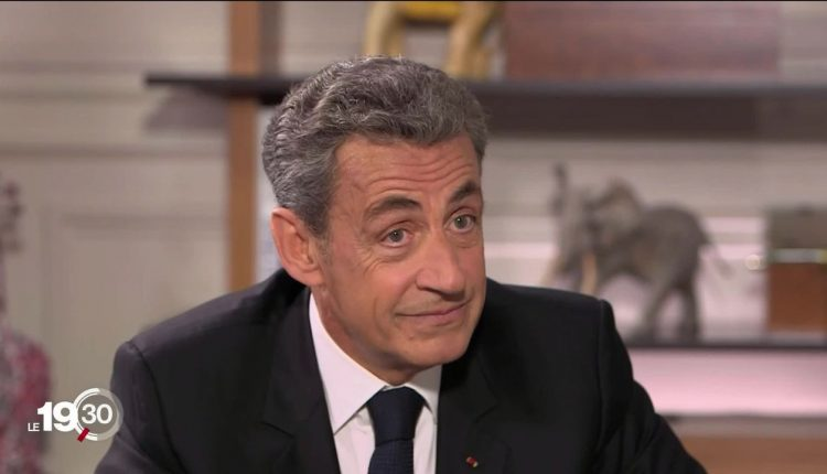 Nicolas Sarkozy @ @ RTS capture d'écran