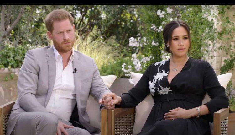 Prince Harry et Meghan Markle| CRÉDIT: CBS / YOUTUBE