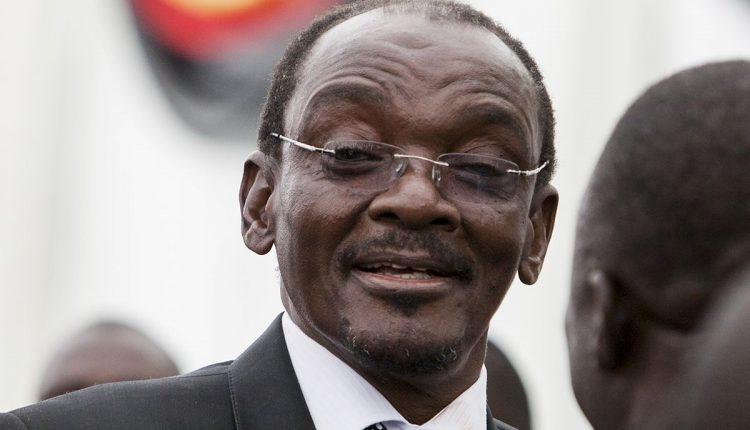 Le deuxième vice-président du Zimbabwé, Kembo Mohadi