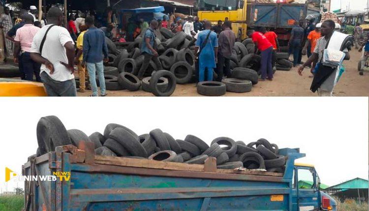 Bénin: une gigantesque opération de ramassage de pneus usagers lancée à Cotonou