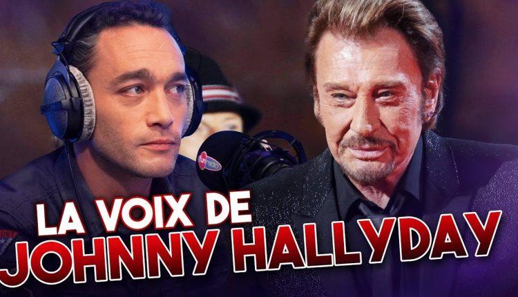 Johnny Hallyday et son sosie vocal Jean-Baptiste Guégan @ YouTube