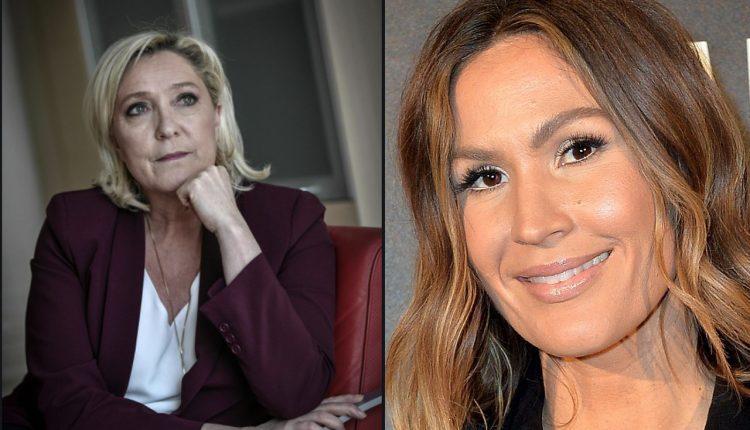 Marine Le Pen et Vitaa @ Montage